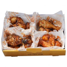 Hộp gà 4 vị (Nướng/Nướng)