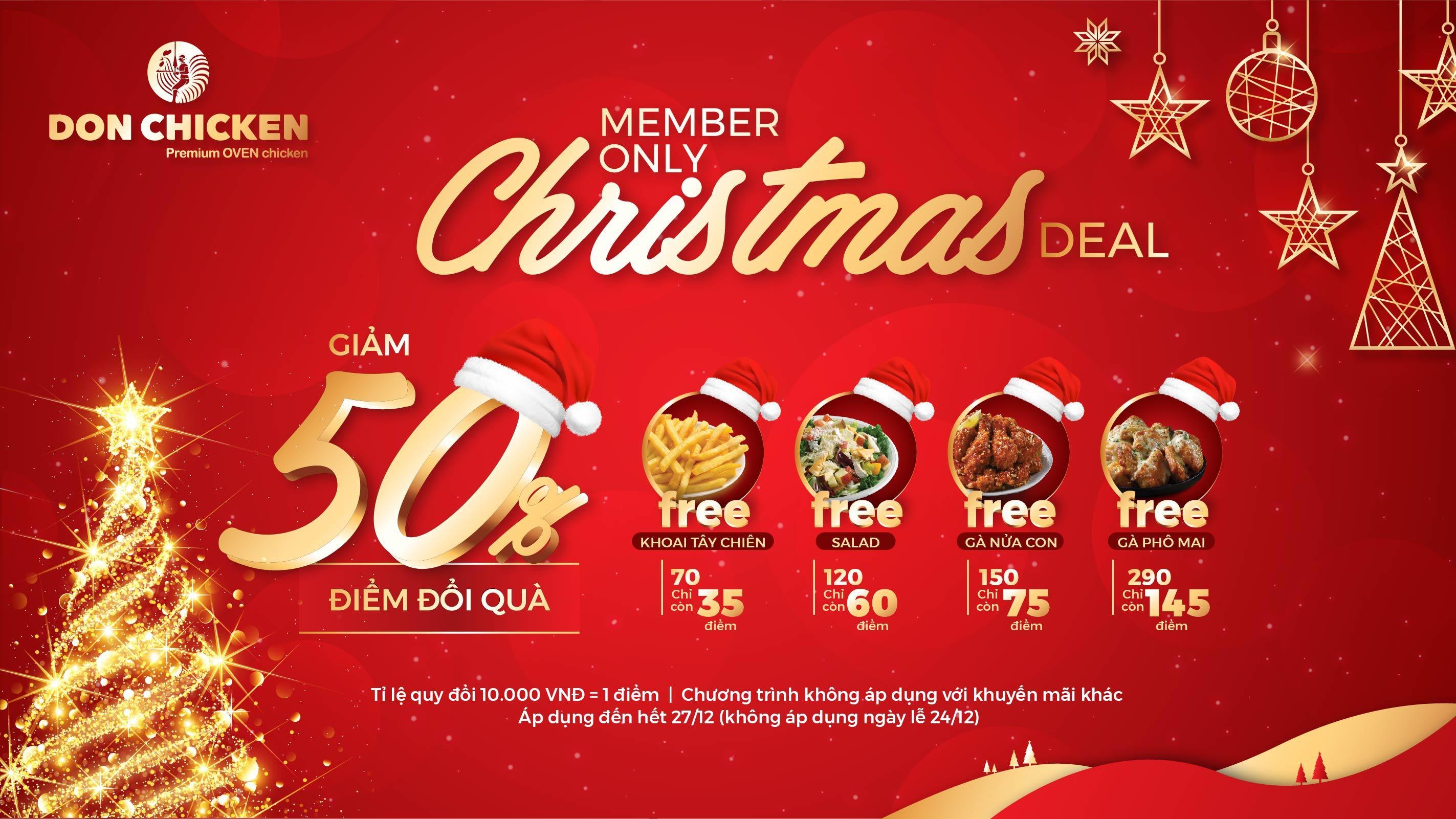 """CHRISTMAS DEAL – """"RINH"""" DEAL ĐỔI QUÀ TẶNG NGAY"""